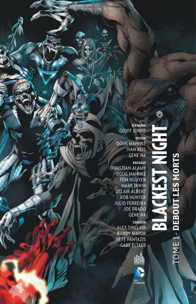Page 3 blackest night tome 1 - debout les morts