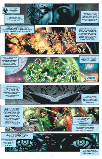 Page 7 blackest night tome 1 - debout les morts