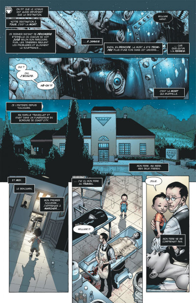 Page 9 blackest night tome 1 - debout les morts