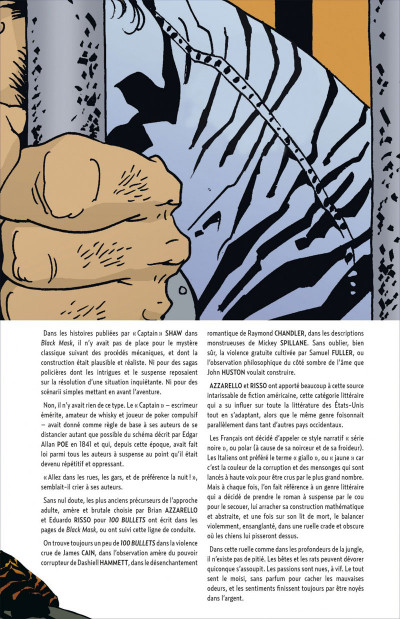 Page 5 100 bullets - cartonné tome 7