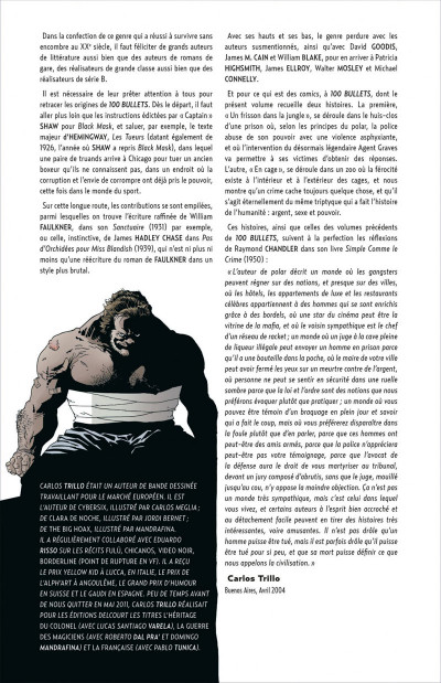 Page 6 100 bullets - cartonné tome 7