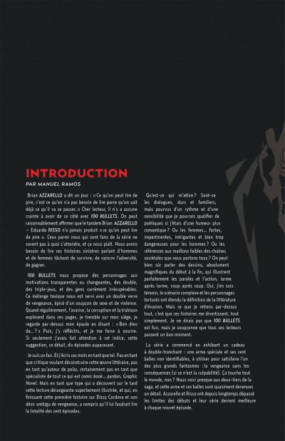 Page 4 100 bullets - cartonné tome 9