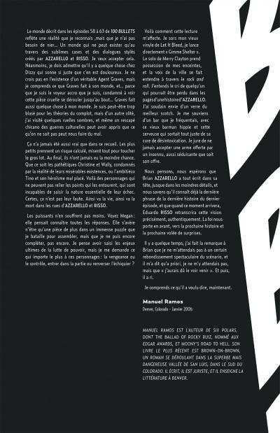 Page 6 100 bullets - cartonné tome 9