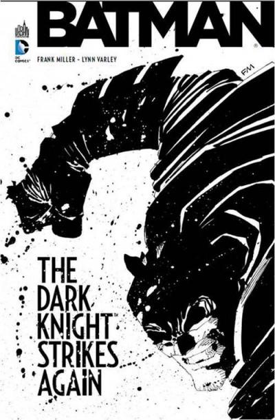 Couverture Batman ; the dark knight strikes again + dvd/Blu-Ray