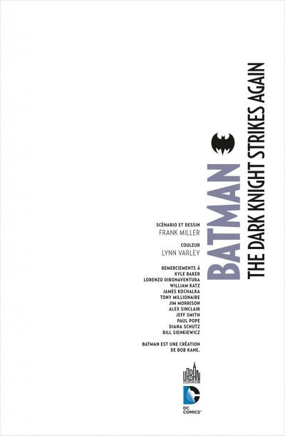 Page 3 Batman ; the dark knight strikes again + dvd/Blu-Ray