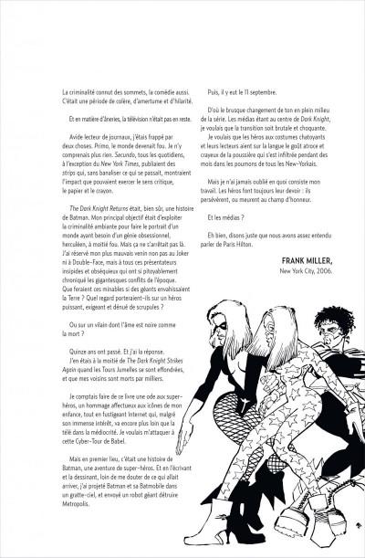 Page 5 Batman ; the dark knight strikes again + dvd/Blu-Ray