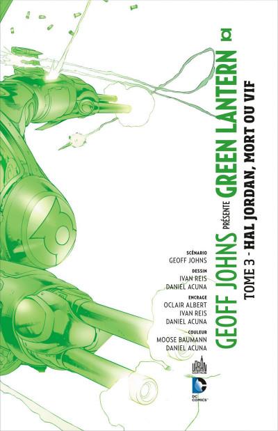 Page 3 Geoff Johns présente Green Lantern tome 3 - Hal Jordan, mort ou vif