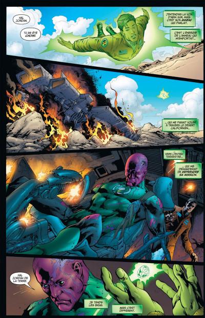 Page 7 Geoff Johns présente Green Lantern tome 3 - Hal Jordan, mort ou vif