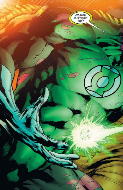 Page 8 Geoff Johns présente Green Lantern tome 3 - Hal Jordan, mort ou vif