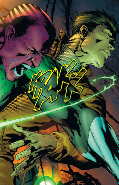 Page 9 Geoff Johns présente Green Lantern tome 3 - Hal Jordan, mort ou vif