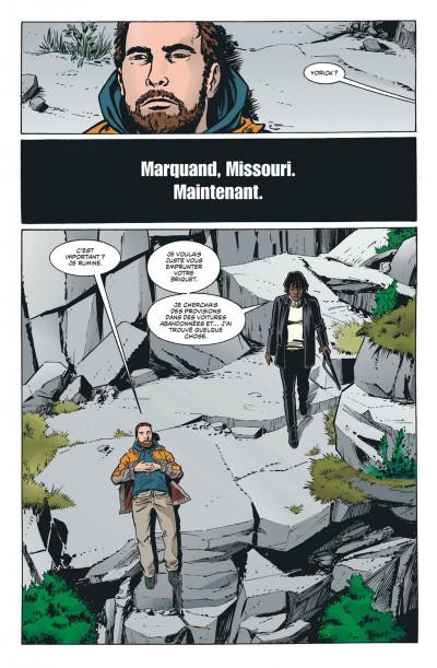Page 7 Y le dernier homme tome 2