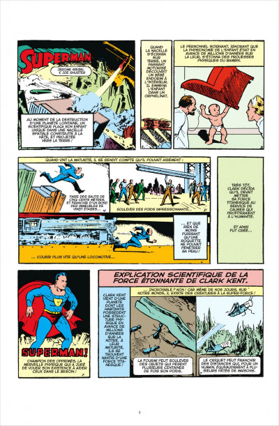Page 9 Superman anthologie ; 15 récits qui ont défini l'homme d'acier