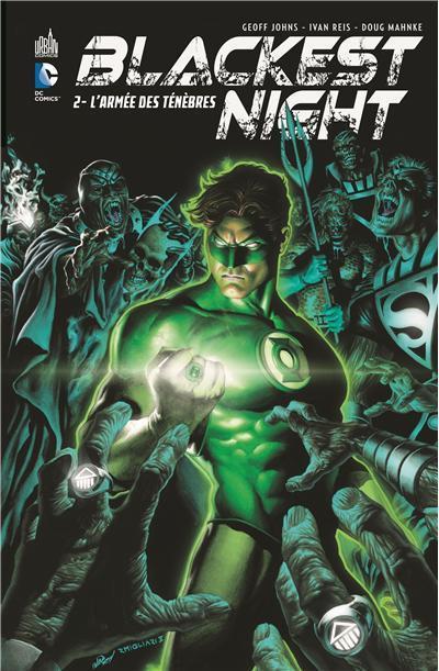 Couverture blackest night tome 2 - l'armée des ténèbres