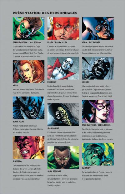 Page 1 blackest night tome 2 - l'armée des ténèbres