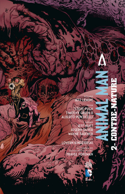 Page 3 Animal Man tome 2 - contre-nature