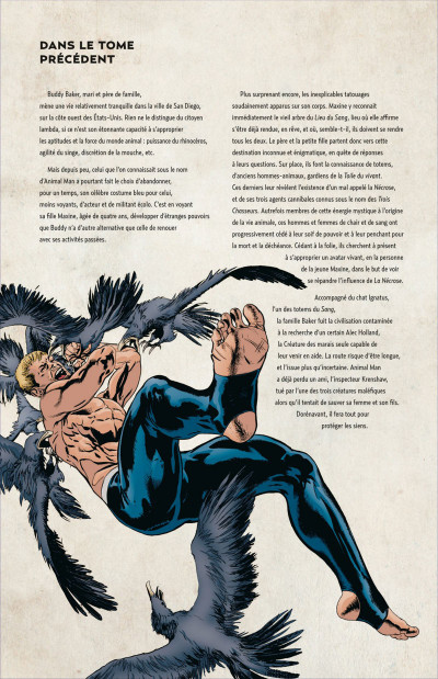 Page 4 Animal Man tome 2 - contre-nature