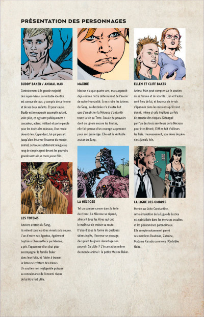 Page 5 Animal Man tome 2 - contre-nature