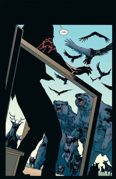 Page 8 Animal Man tome 2 - contre-nature