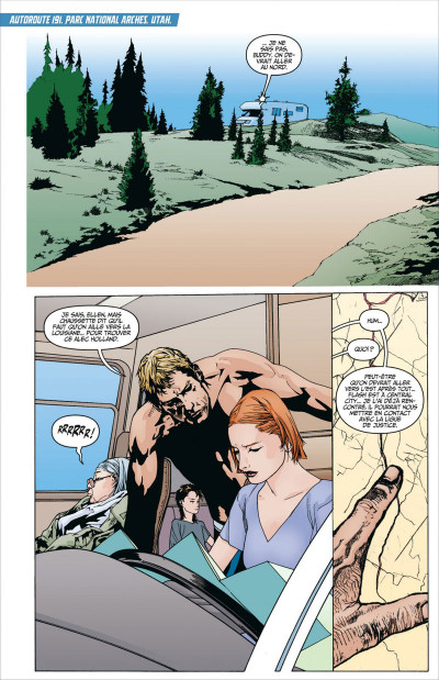 Page 9 Animal Man tome 2 - contre-nature