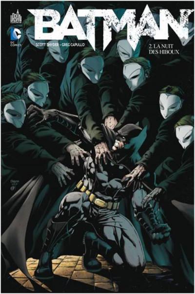 Couverture Batman tome 2 - la nuit des hiboux