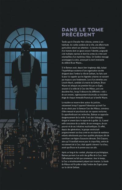 Page 4 Batman tome 2 - la nuit des hiboux