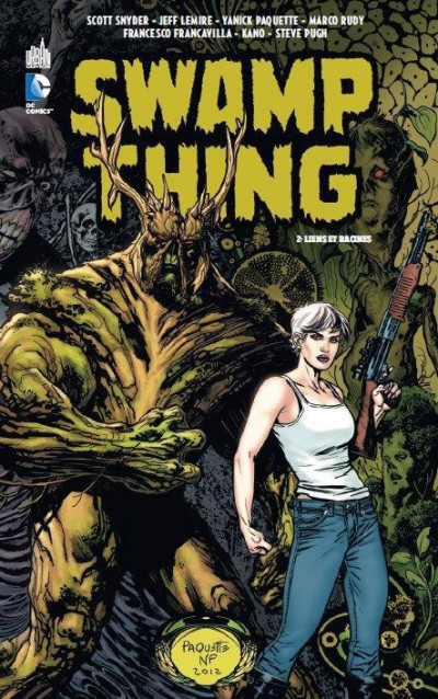 Couverture Swamp Thing tome 2 - liens et racines