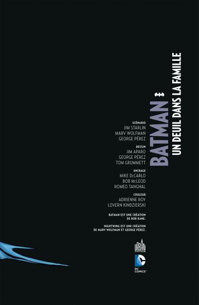 Page 3 Batman ; un deuil dans la famille