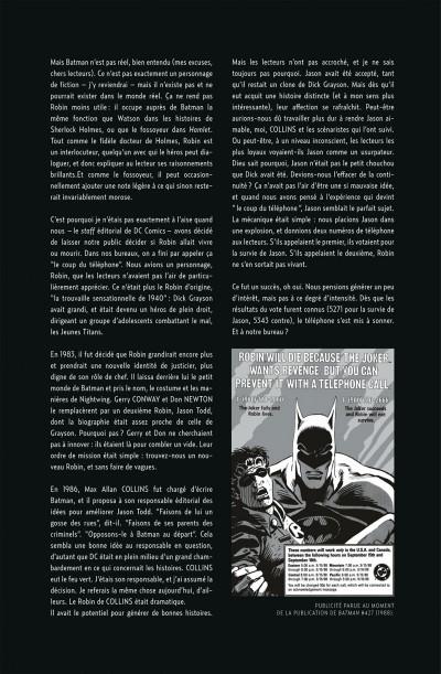 Page 5 Batman ; un deuil dans la famille