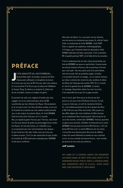 Page 6 severed, destins mutilés