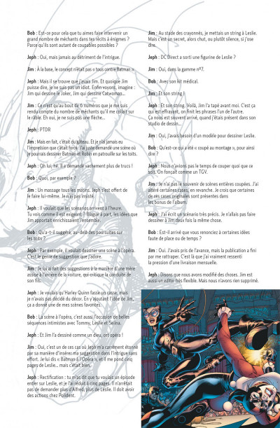 Page 5 Batman ; Silence