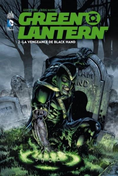 Couverture Green lantern T.2 - la vengeance de Black Hand