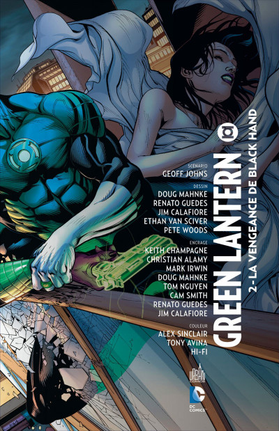 Page 3 Green lantern T.2 - la vengeance de Black Hand