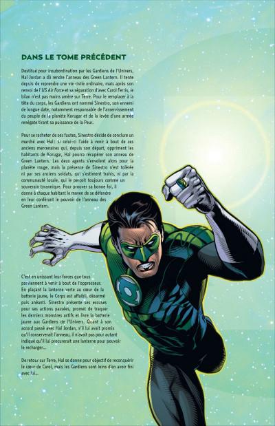 Page 4 Green lantern T.2 - la vengeance de Black Hand