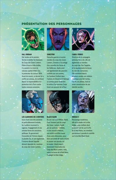 Page 5 Green lantern T.2 - la vengeance de Black Hand