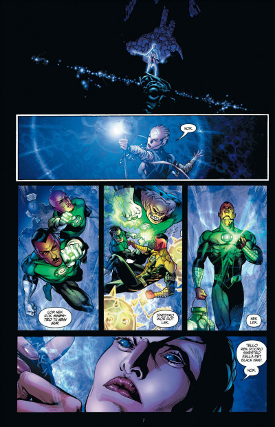 Page 7 Green lantern T.2 - la vengeance de Black Hand