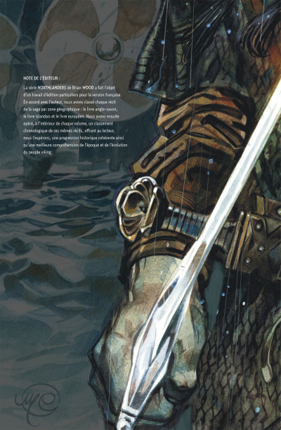 Page 4 Northlanders tome 1