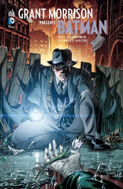 Couverture Grant Morrison présente Batman tome 5