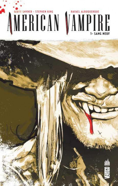 Couverture american vampire tome 1 - sang neuf