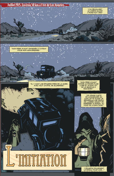 Page 7 american vampire tome 1 - sang neuf