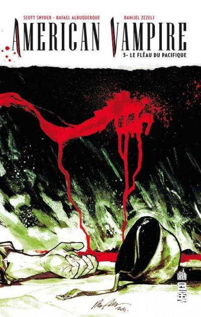 Couverture American vampire tome 3 - le fléau du Pacifique