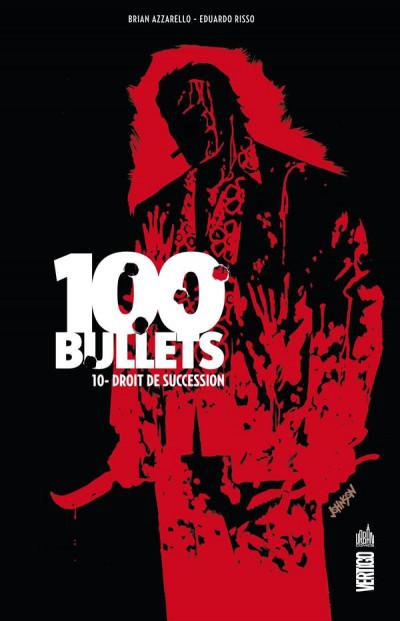 Couverture 100 bullets - cartonné tome 10