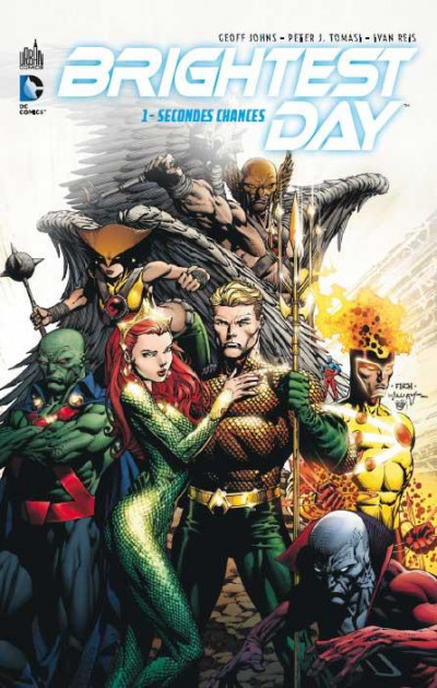 Couverture brightest day tome 1 - secondes chances