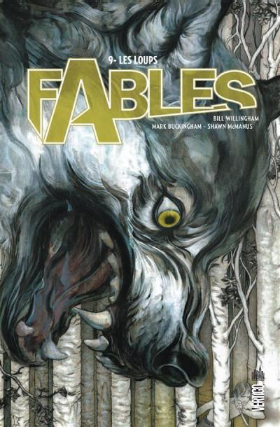 Couverture Fables tome 9 - les loups (cartonné)