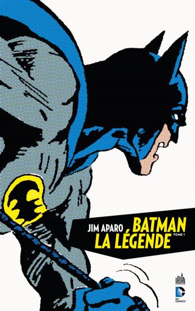 Couverture Batman la légende tome 1
