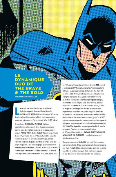 Page 4 Batman la légende tome 1