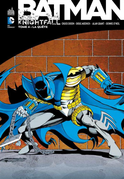 Couverture Batman knightfall tome 4