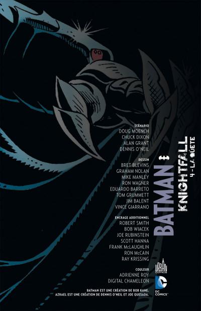 Page 3 Batman knightfall tome 4
