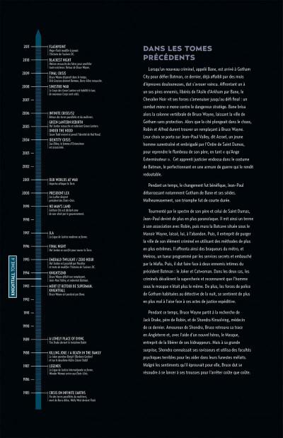 Page 4 Batman knightfall tome 4