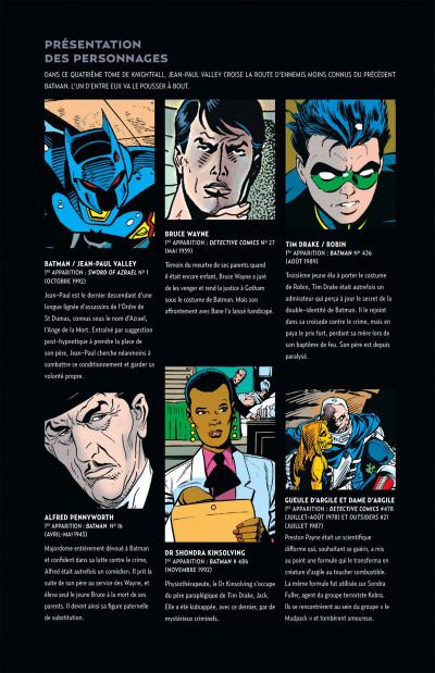 Page 5 Batman knightfall tome 4