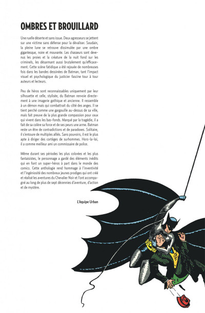 Page 2 Batman anthologie